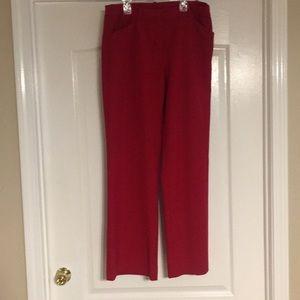Worthington Red Pants